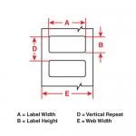 THT-17-434-3 металлические наклейки (без металла) Bradу