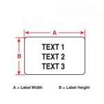 M71-30-459 термотрансферные этикетки на продукцию (аналог на TLS/HM PTL-30-459)