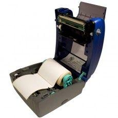 Принтер BBP11 использует материалы на 1 дюймовой втулке (помещаются внутрь принтера) и на 3-х дюймовой втулке (помещаются вне принтера на специальном держателе).