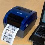 Стационарный термотрансферный принтер этикеток BBP11.