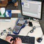 Принтер BMP41 может работать как автономно, с помощь ввода с клавиатуры, так и с подключением к компьютеру.
