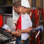 Высокая мобильность принтера BMP41 позволяет делать процесс маркировки на месте легкими и быстрым.
