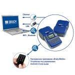 Подключайте принтеры BMP51 и BMP53 с помощью проводных USB, Ethernet и беспроводных технологий WiFi, Bluetooth.