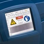Большой сенсорный экран принтера GlobalMark.