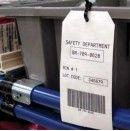 Промышленные кабельные бирки Brady B-411 для долговечной маркировки в рулонах THT