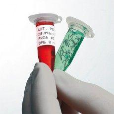 Этикетки самоклеющиеся для маркировки в лабораториях.
